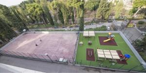 campo e area gioco